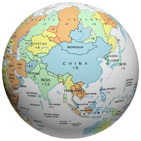 Asia time zone globe gumiabroncs Choice Image